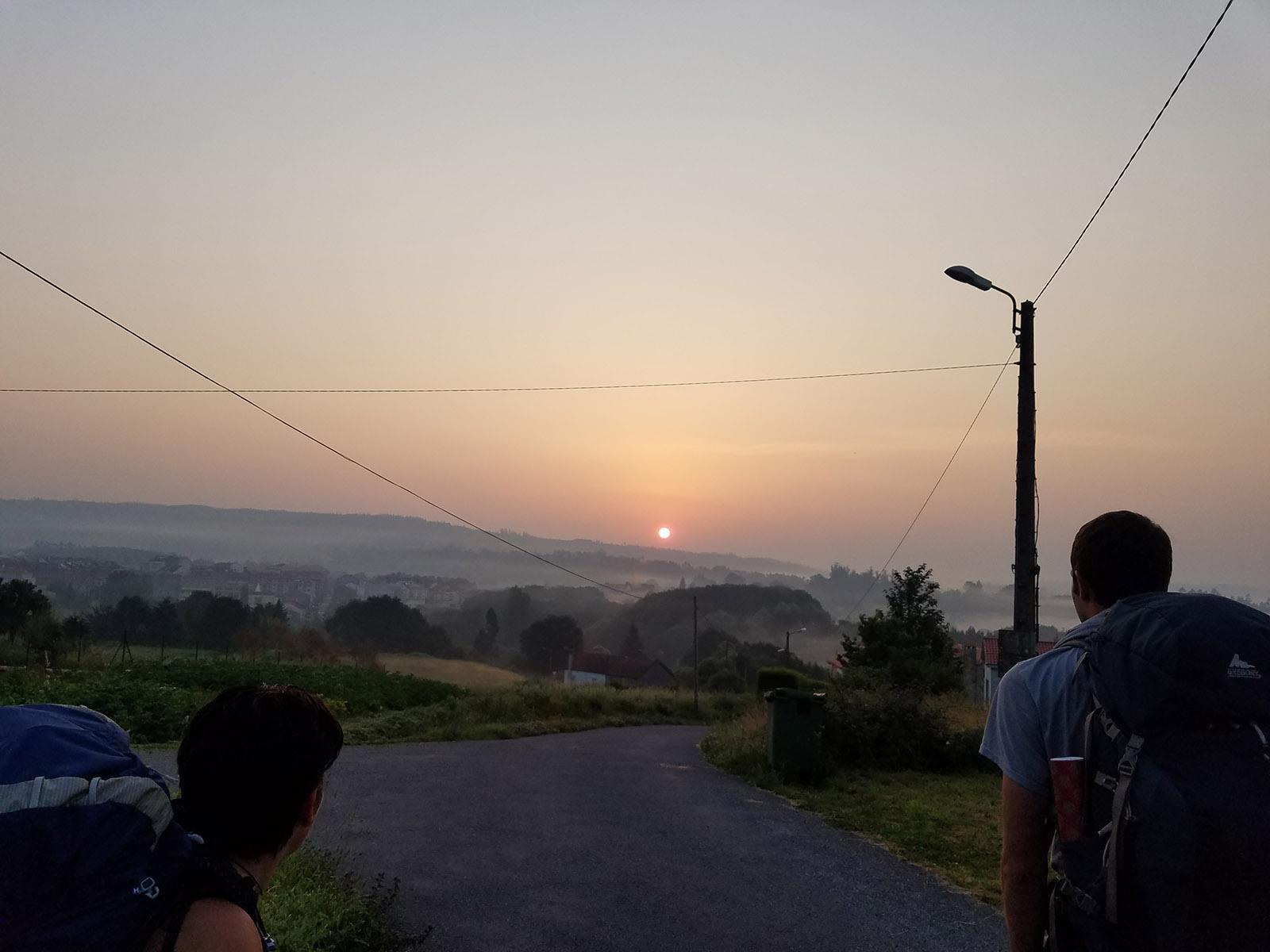 Day 41 – Negreira to Olveiroa